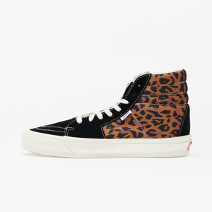 Vans OG Style 38 NS LX (Suede/ Canvas) Leopard/ Marshmallow