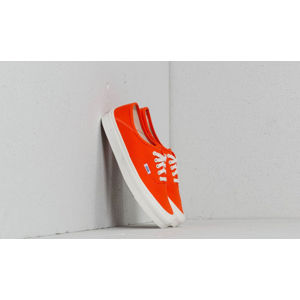 Vans OG Style 43 LX (Canvas) Red Orange/ Marsh