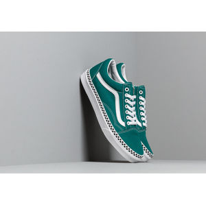 Vans Old Skool (Check Foxing) Quetzal Green