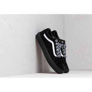 Vans Old Skool (Check Lace) Black/ Black