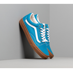 Vans Old Skool (Gum) Mediterranean Blue/ True White