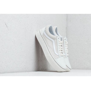 Vans Old Skool Platform (Leather) Snake/ White