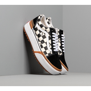 Vans Old Skool Stacked (Checkerboard) Black/ True White