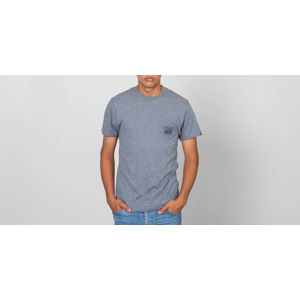 Vans Original Triangle Pocket Tee Heather Grey