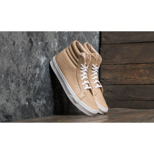 Vans SK8-Hi Reissue (Leather) Sesame/ True White