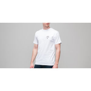 Vans Stacked Rubber Shortsleeve Tee White
