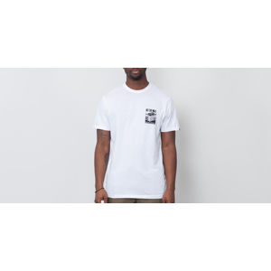 Vans Stacked Up Tee White