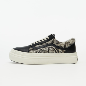 Vans Super ComfyCush Old Skool (Snake/ Pony) Black/ Marshmallow