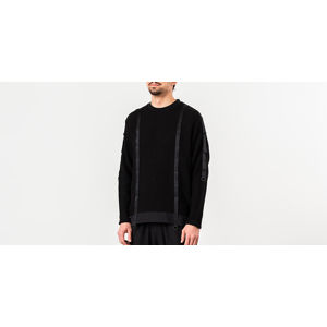 White Mountaineering Military Sweater Black