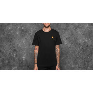 WOOD WOOD Ace Tee Black