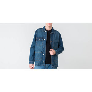 WOOD WOOD Gavin Jacket Worn Blue