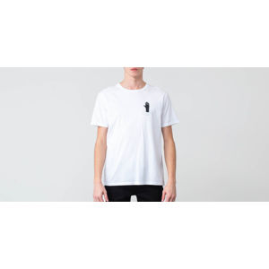 WOOD WOOD Hand Tee Bright White