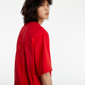 Y-3 Classic Offset Logo SS Tee Scarlet