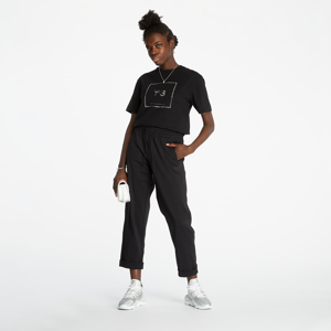 Y-3 Square Label Graphic SS Tee Black