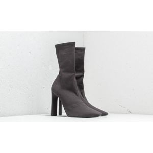Yeezy Season 7 Stretch Canvas Ankle Boot Graphite